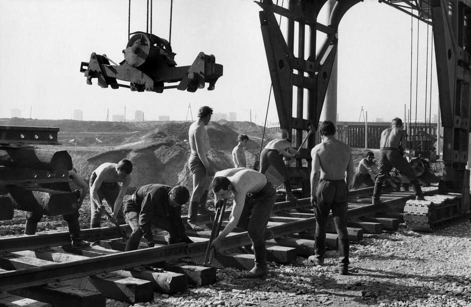 1972. Набережные Челны. Камаз. Строительство завода