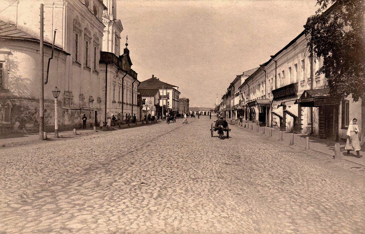 Первый квартал ул. Русина в Костроме