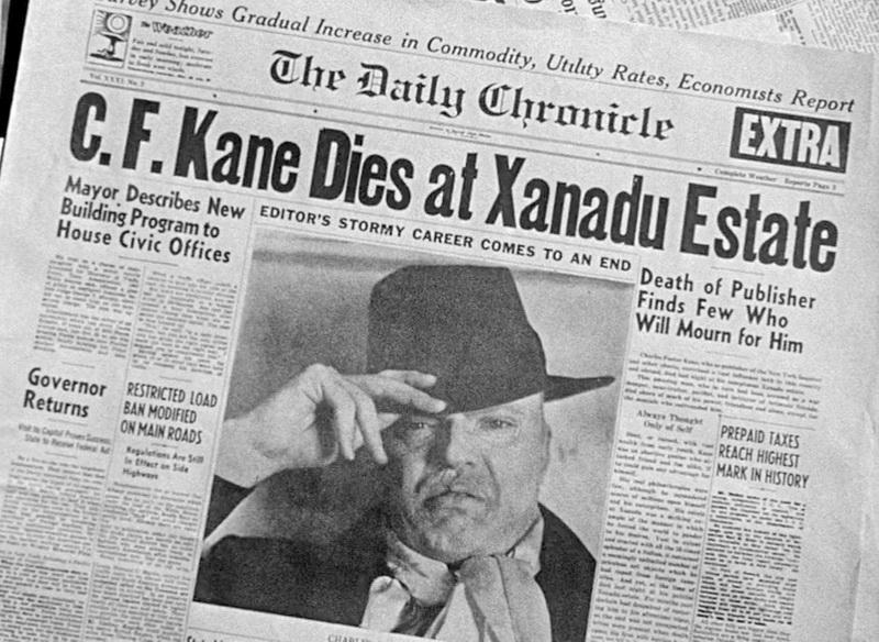 1941 - Гражданин Кейн (Орсон Уэллс)