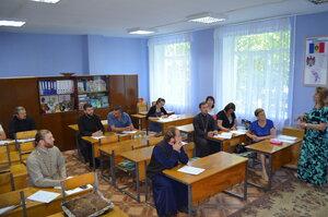 Atelier de dezbatere pe subiect a profesorilor de Religie din raionul Sîngerei