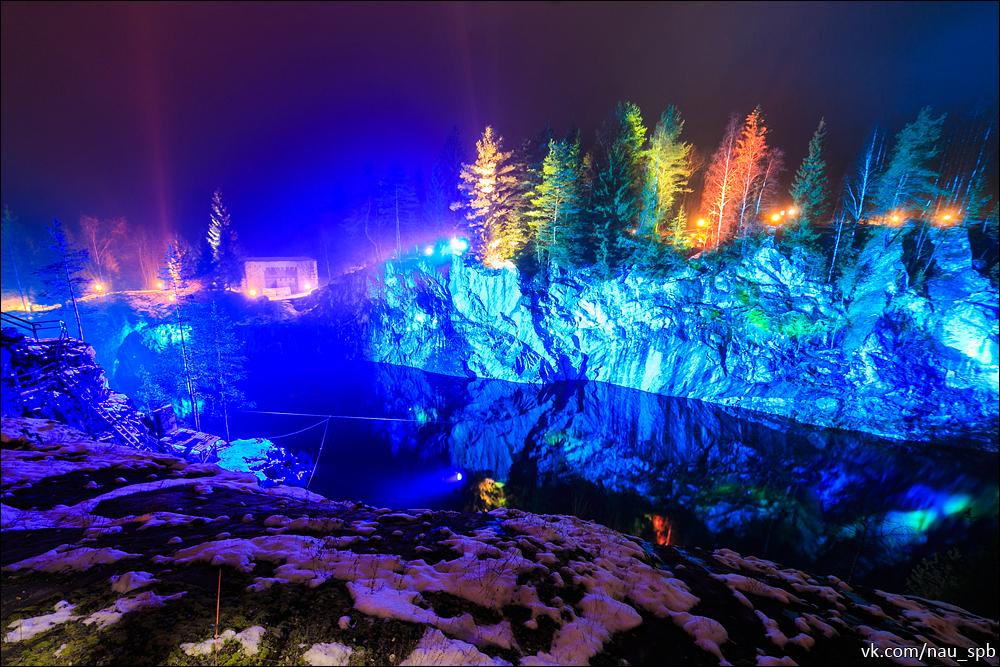 мраморный каньон рускеала зимой фото вьющуюся фасоль прямо