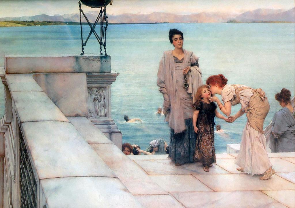 Lawrence Alma-Tadema - A kiss.jpg