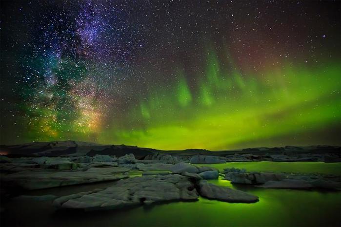Красивые фотографии полярного сияния 0 10d62b c2fba21f orig
