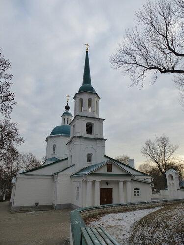 Тихвинская церковь XVIII в. в стиле барокко
