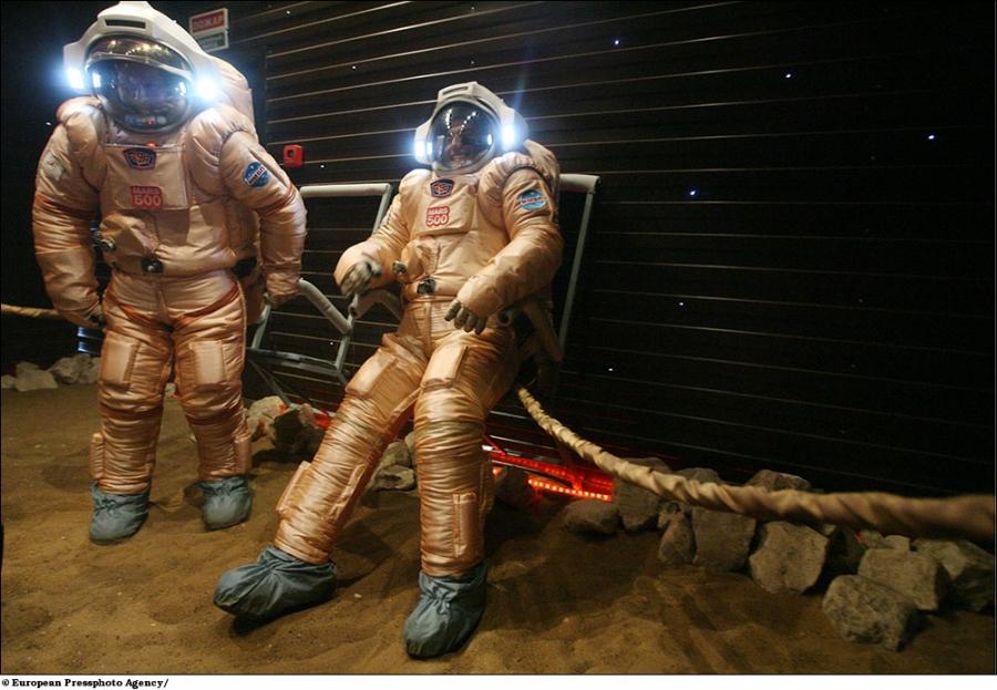 РФ вместе с NASA повторит проект «Марс-500»