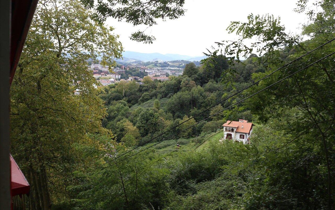 Доностия-Сан-Себаcтьян. Фуникулёр Монте Игельдо (Funicular Monte Igueldo)