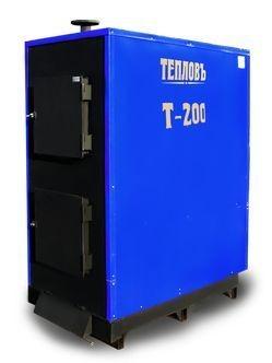 Твердотопливный котел Т-200