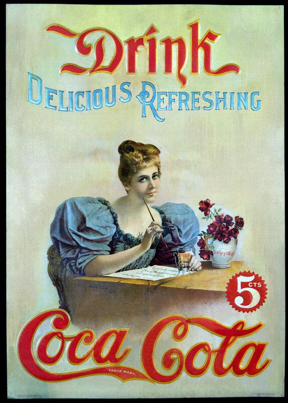 Coca-Cola U.S. advertisement, 1890s.