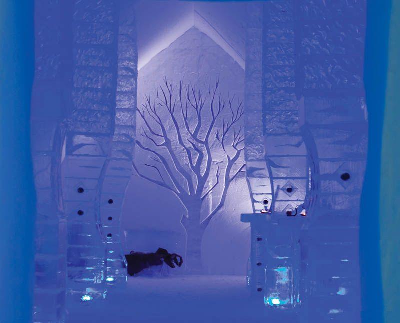 Ледяной отель Hotel de Glace