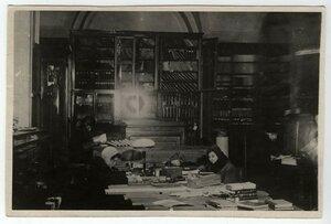 Читальный зал. 1942-43