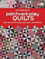 Книга Patchwork-Play Quilts: Make the Most of Scraps, Spare Parts, and Leftovers hq pdf 104Мб