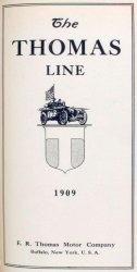 Книга E.R. Thomas Motor Company, Buffalo, N.Y.; The Thomas line