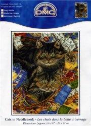 Журнал DMC  Cats in the Needlework №BK671