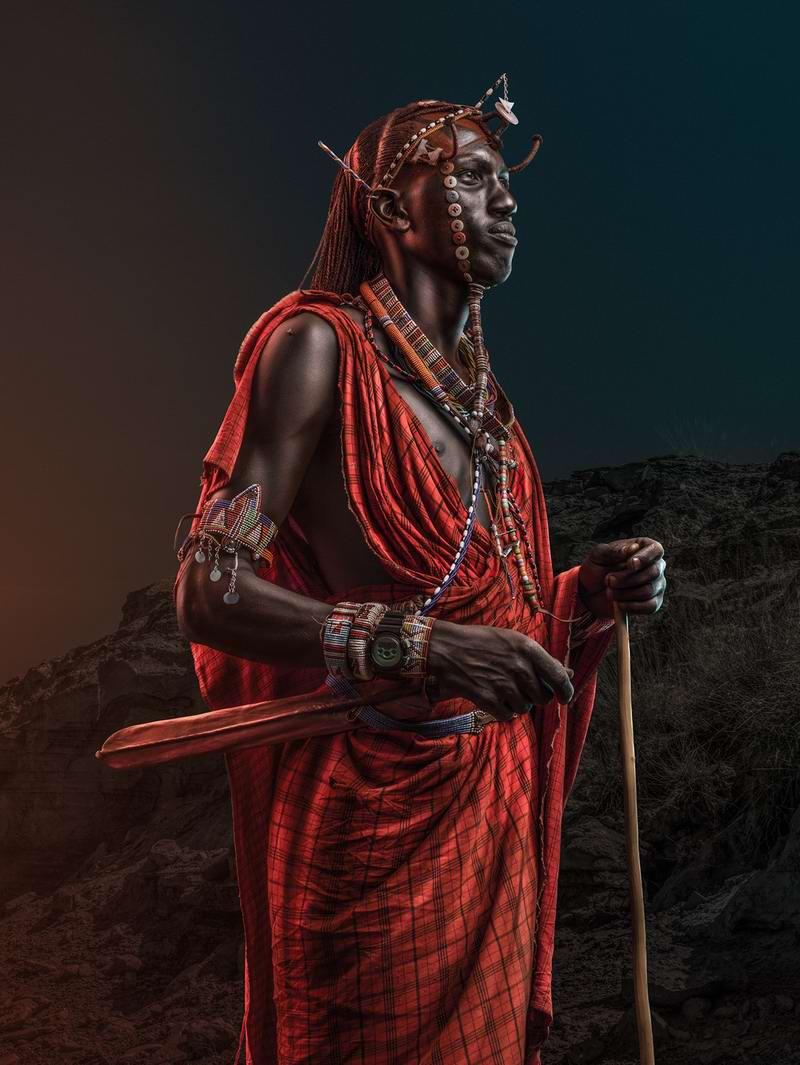 Современные африканцы на художественных фото кенийского фотографа Osborne Macharia (1)