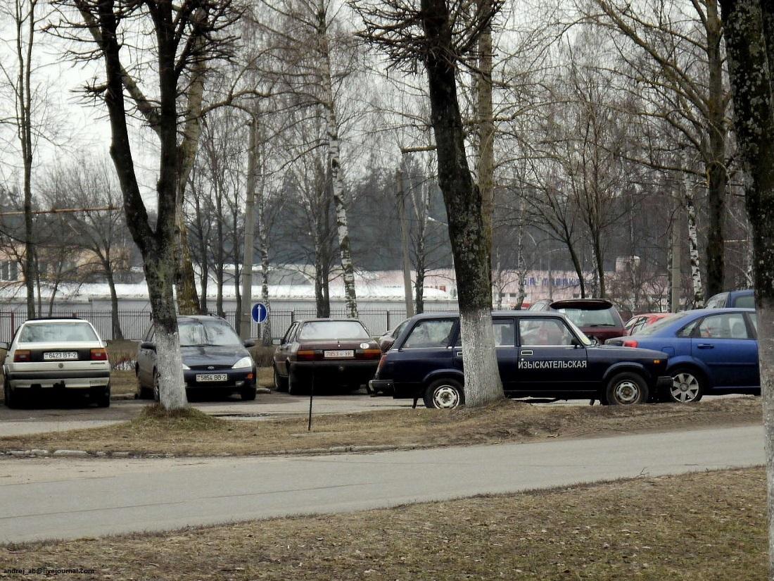 """""""Изыскательская""""  четвёрка в Новополоцке."""