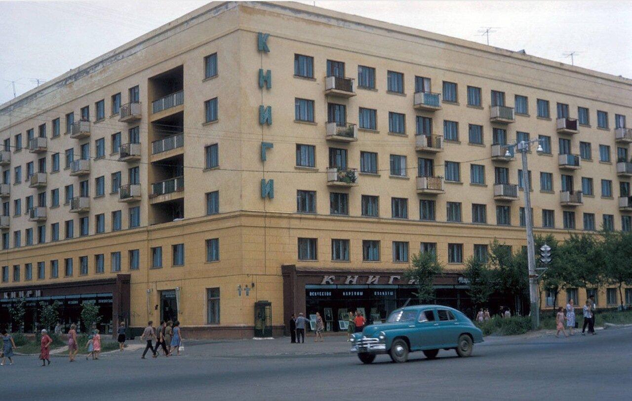Хабаровск. Большой книжный магазин