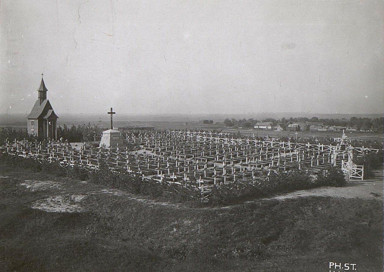 Гривятки. Воинское кладбище