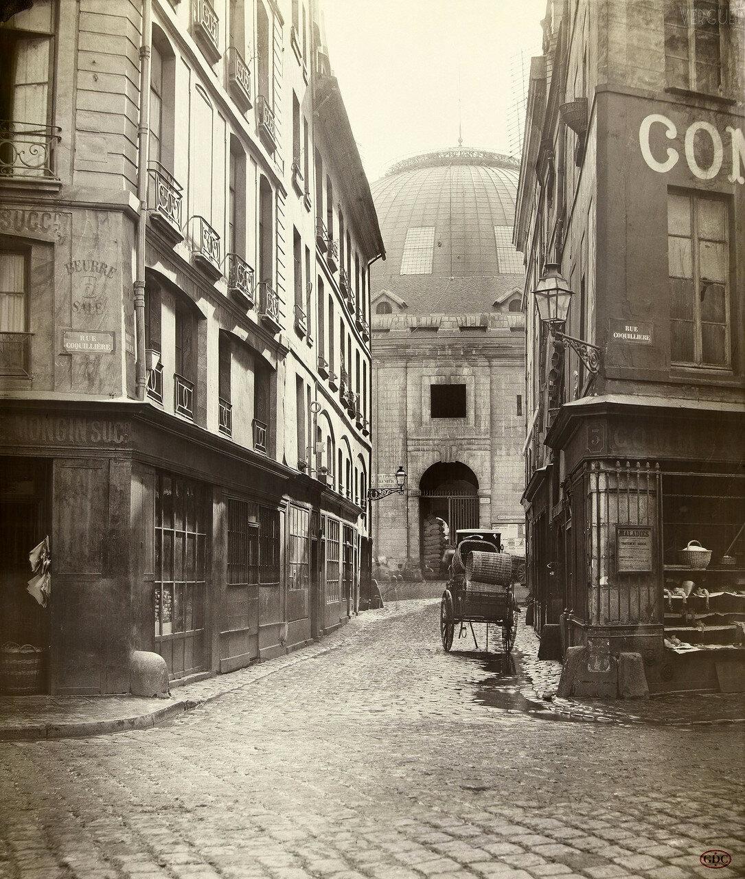 Рю Облин и Рю Кокийер. 1868
