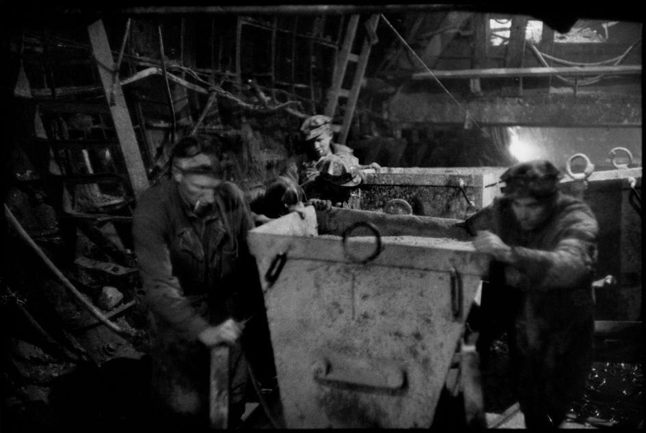 1954. Москва. Строительство новой линии метро