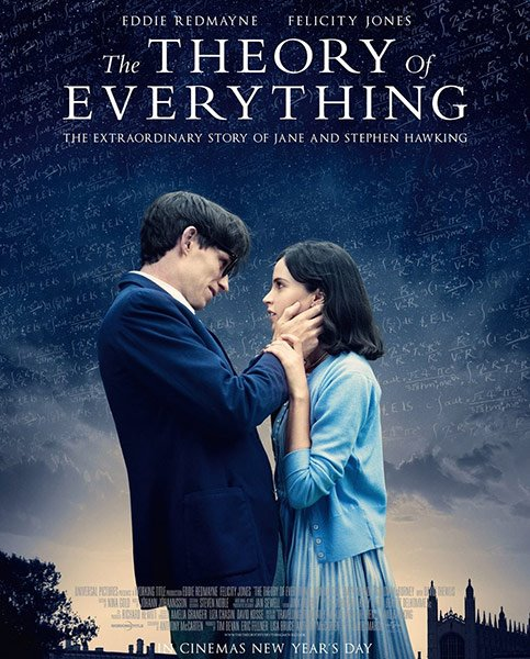 Вселенная Стивена Хокинга / Теория всего / The Theory of Everything (2014/WEBRip/ENG)