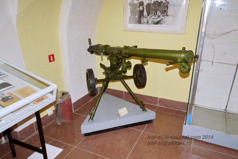 Безоткатное орудие Б-10, Музей истории ВДВ, Рязань