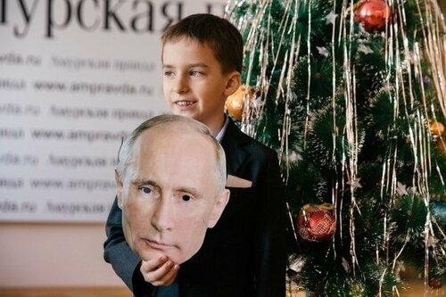 Второклассник Путин взорвал интернет