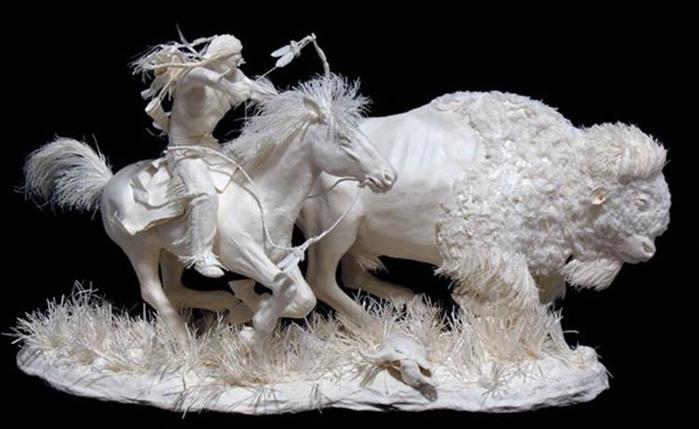 Удивительные скульптуры из бумажной массы 0 115b6a 835cff23 orig