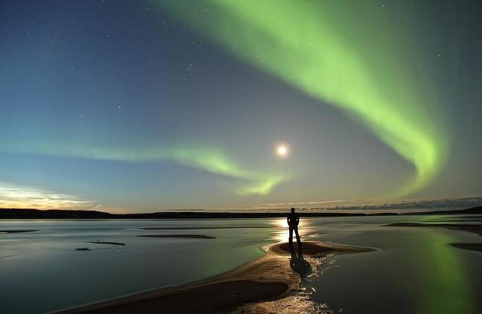 Красивые фотографии полярного сияния 0 10d658 d23b98ee orig