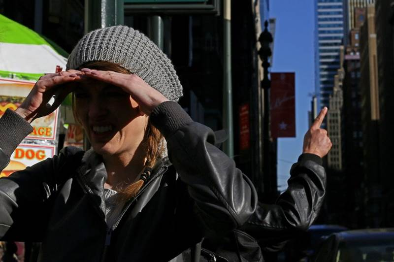 Необычные наряды и странные люди в Нью Йорке