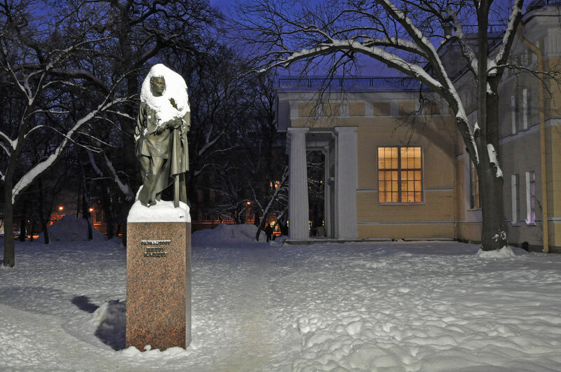 Памятник П. П. Клодту
