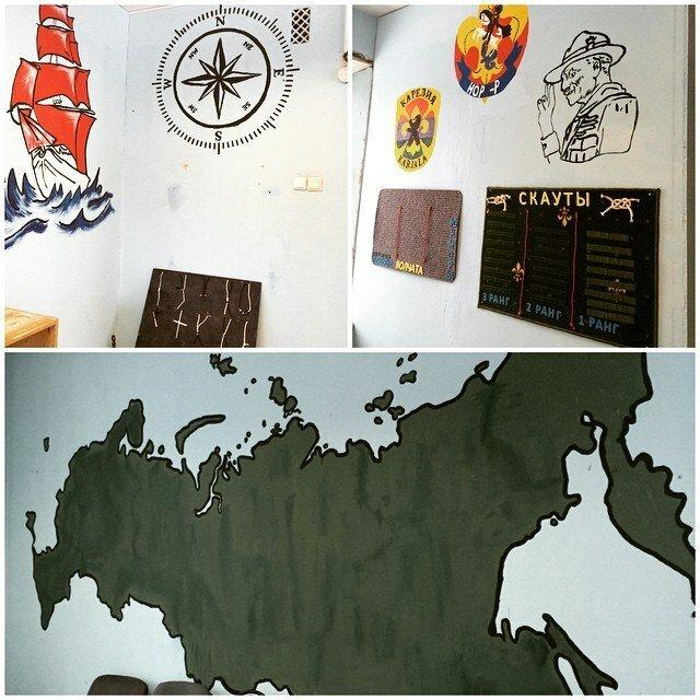 Новый штаб скаутов Карелии