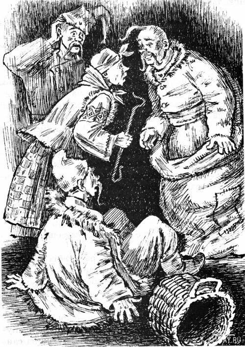 Николай Васильевич Гоголь - Ночь перед Рождеством - Иллюстратор Александр Кузьмин