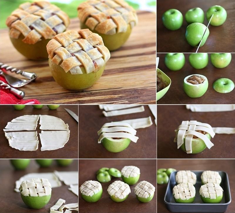 8. Запеченные яблоки.