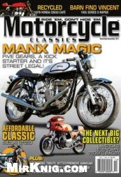 Журнал Motorcycle Classics - №11-12 2011