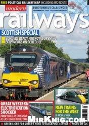 Журнал Modern Railways September 2015