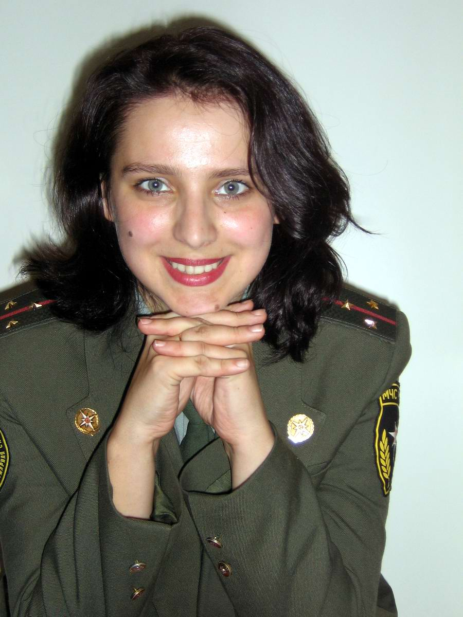 Любую беду руками разведу: Лица девушек из МЧС России (44)