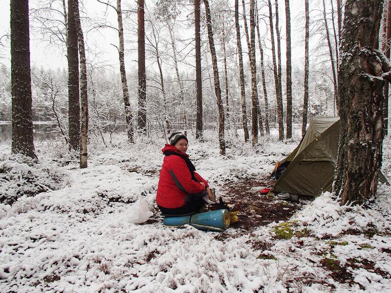пеший поход с палаткой зимой беременной на пятом месяце