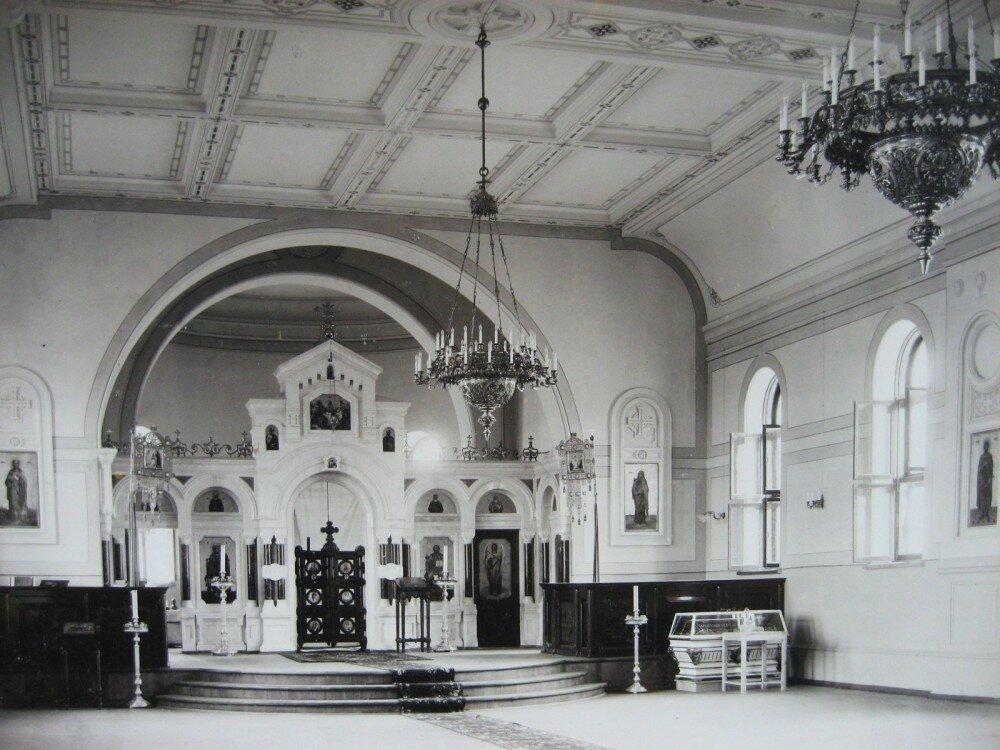 07. Внутреннее убранство железнодорожной церкви на станции Казалинск