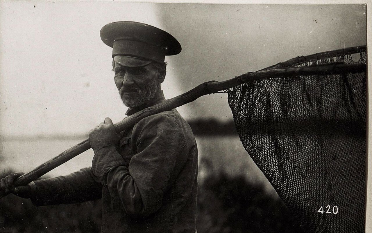 Устилуг. Рыбак