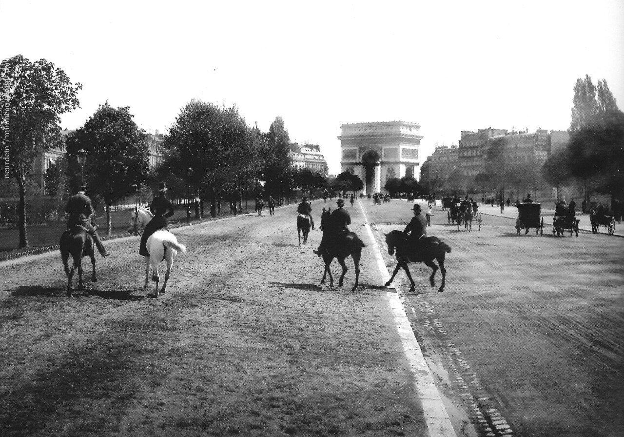 1900-е. Авеню Булонский лес