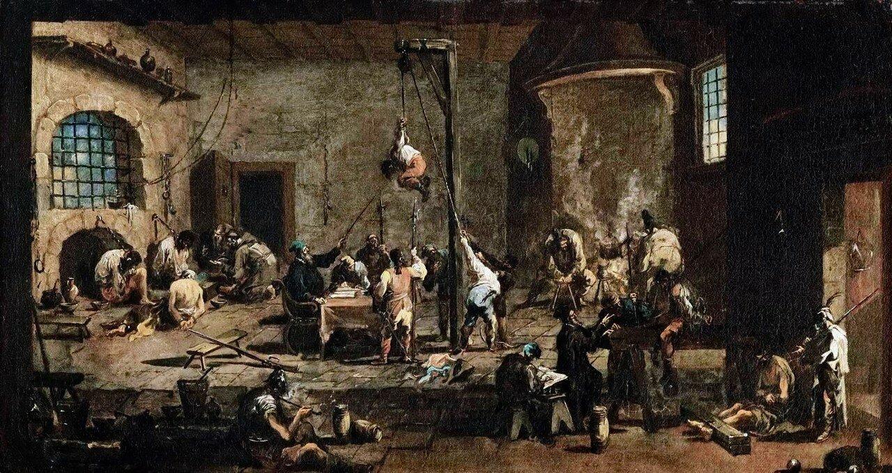 Alessandro_Magnasco_-_Interrogations_in_Jail_-_WGA138491710-20-е.jpg