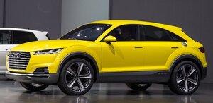Audi определила название кроссовера, созданного на базе ТТ