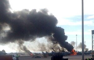 В Испании 10 человек погибло в результате крушения F-16