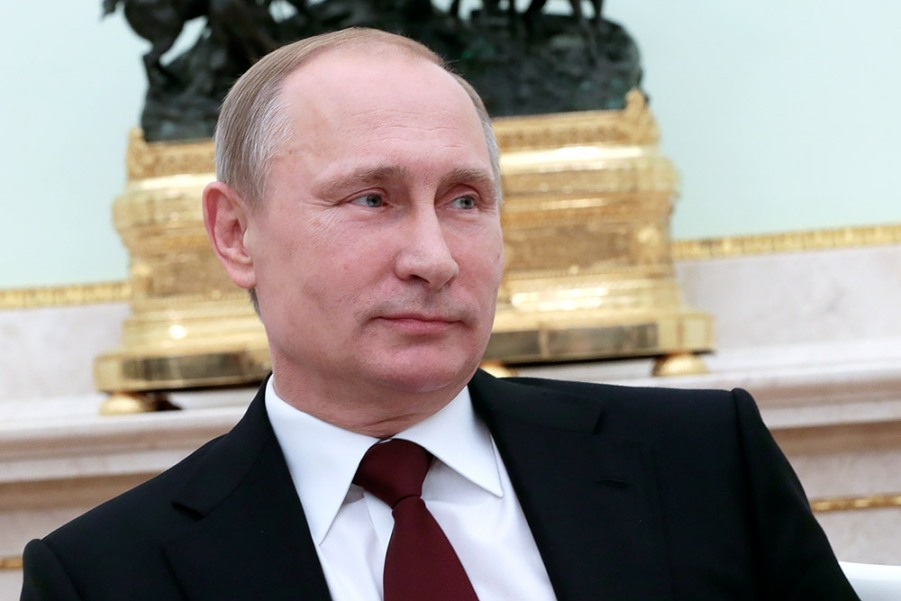 Трехсторонняя встреча глав России, Германии и Франции