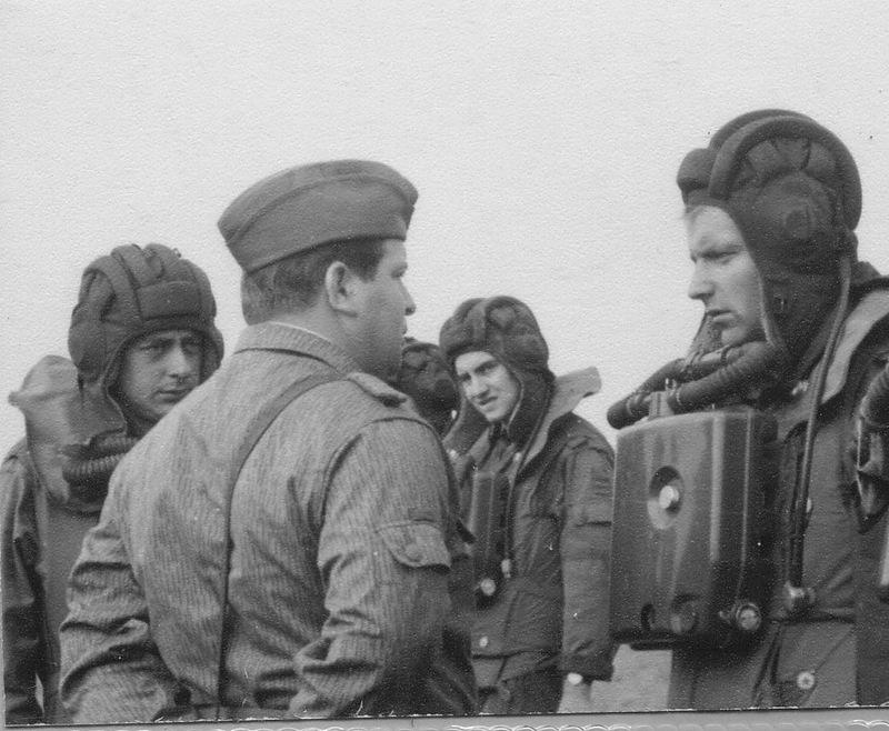 Танковые учения в ГДР