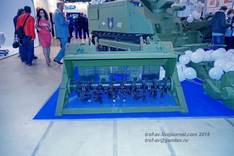 Оборудование для робототехнических комплексов Уран-6 и Уран-14, Выставка Комплексная безопасность 2015, Москва