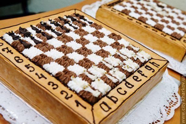 Празднуем Международный день шахмат и торта открытки фото рисунки картинки поздравления