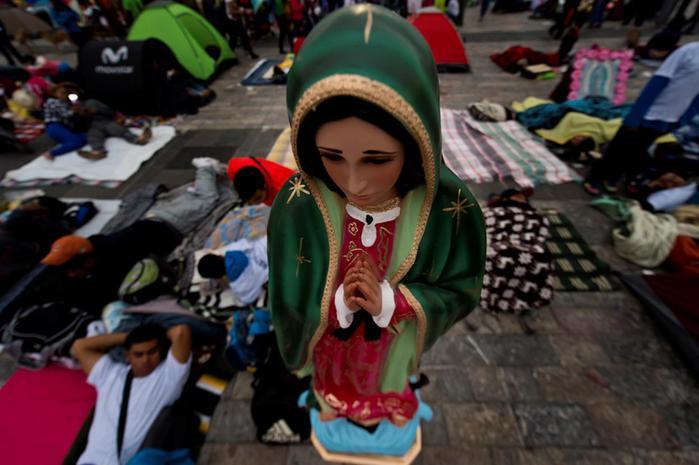 В Мексике отмечают День Черной Мадонны