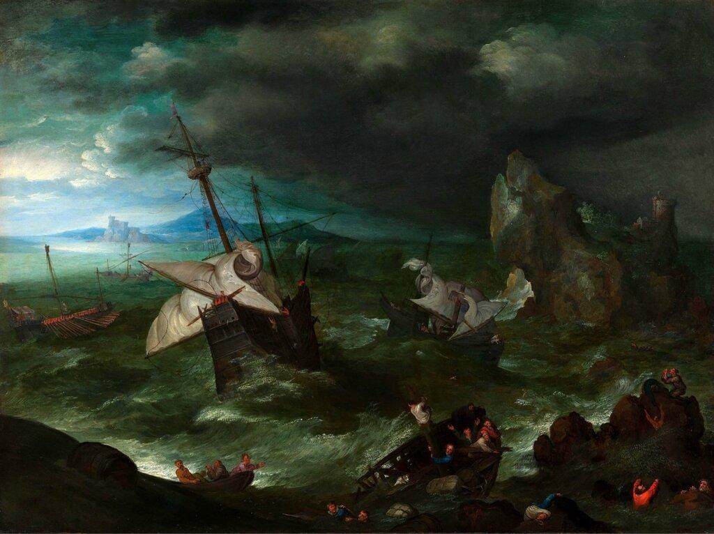 Шторм (ок.1596) (Лондон, Нац. галерея) (2,94 МБ).jpg