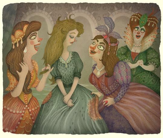 Образ старинных сказок